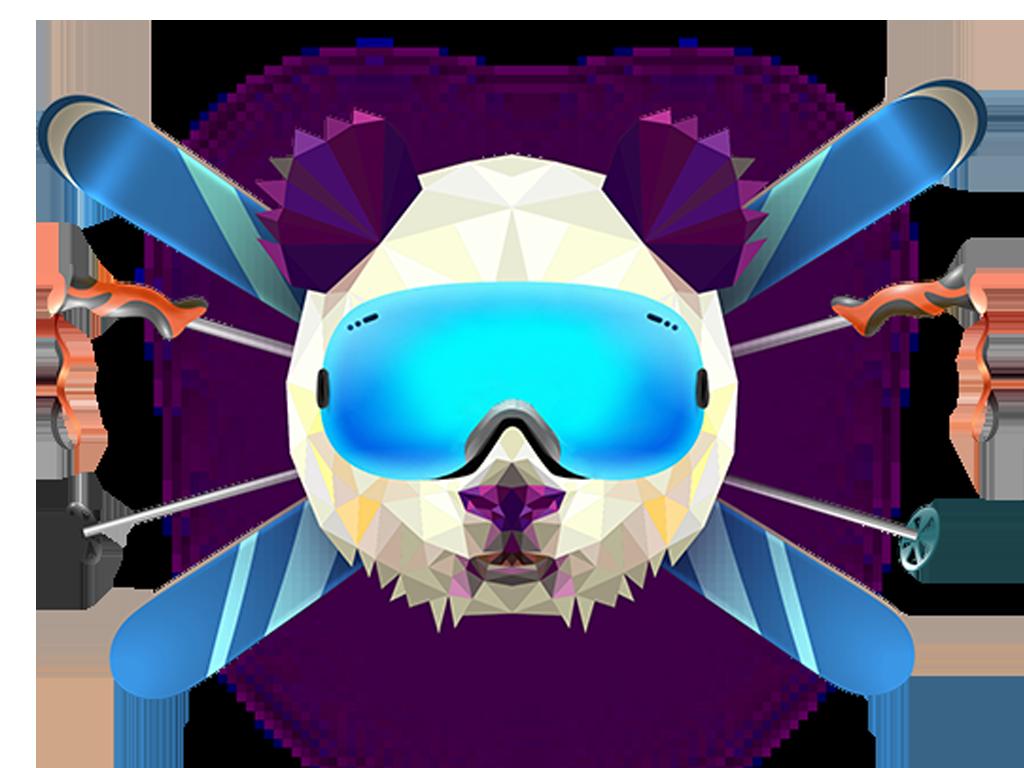 logo snowmates community di sciatori e snowboarders